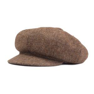 Katupoika Newsboy kangaslakki Helsinki Hat Factory