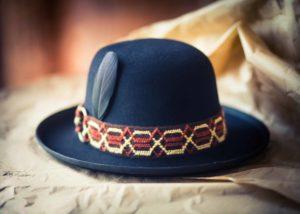 fedora helsinki hat factory musta huopahattu custom hat